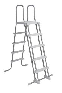 Лестница для бассейна Intex 132 см 28077 с площадкой + родительский контроль