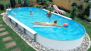 Сборный бассейн Summer Fun 4501010261KB овальный 916х460х150 см