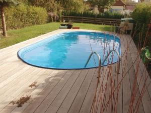 Сборный бассейн Summer Fun 4501010260KB овальный 800х400х150 см