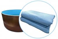 Чаша (пленка) голубая мозаика для бассейнов Azuro mountfield, Лагуна