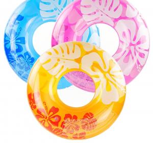 Надувной круг Clear Color Intex арт.59251 91см, 3 цвета от 9 лет