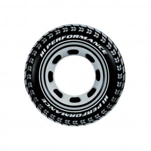 Надувной круг Шина Intex арт.59252 91см, от 9 лет