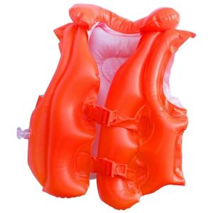 Надувной жилет  красный Intex арт.58671, 50х47см, на 3-6 лет