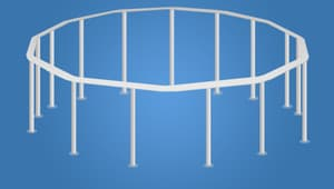 Каркас для бассейна Bestway Steel Pro 457х122 см